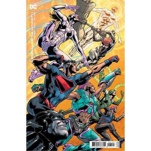 SUPERMAN AND THE AUTHORITY #1 (OF 4) CVR B BRYAN HITCH VAR