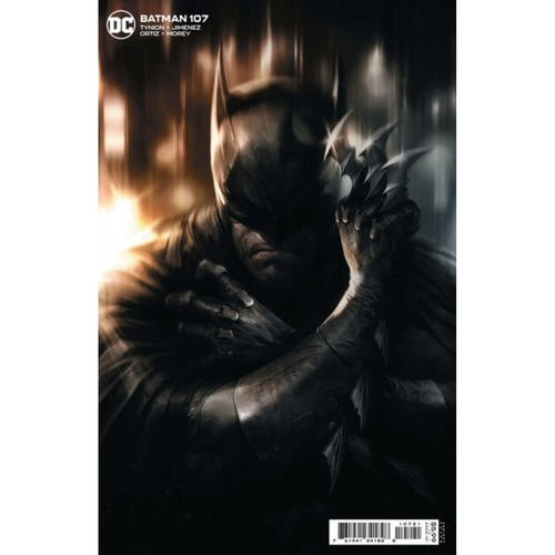 BATMAN #107 CVR B FRANCESCO MATTINA CARD STOCK VAR