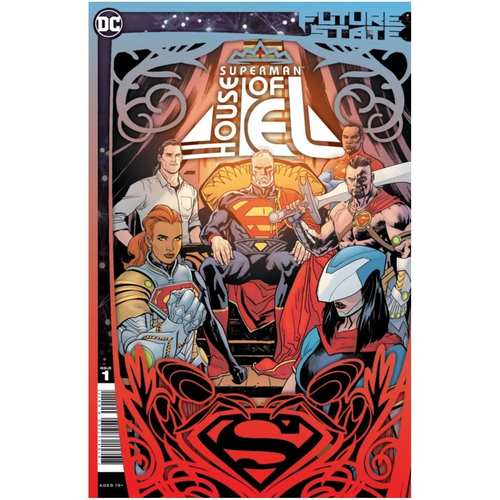 FUTURE STATE SUPERMAN HOUSE OF EL #1 (ONE SHOT) CVR A YANICK PAQUETTE