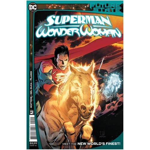 FUTURE STATE SUPERMAN WONDER WOMAN #2 (OF 2) CVR A LEE WEEKS