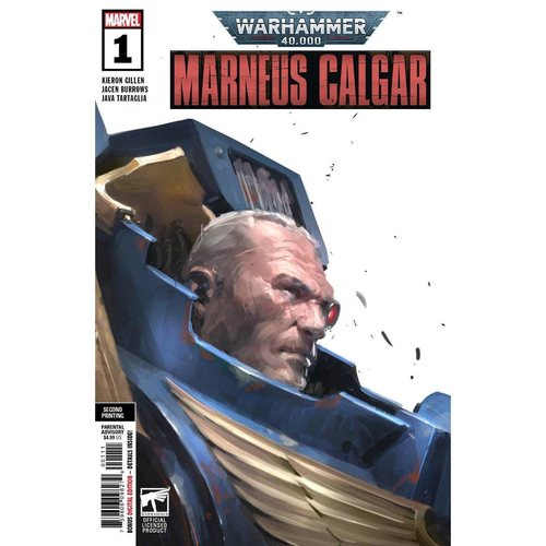 WARHAMMER 40K MARNEUS CALGAR #1 (OF 5) 2ND PTG VAR