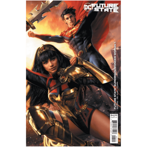 FUTURE STATE SUPERMAN WONDER WOMAN #1 (OF 2) CVR B JEREMY ROBERTS CARD STOCK VAR