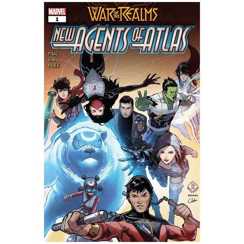 WAR OF REALMS : NEW AGENTS OF ATLAS #1