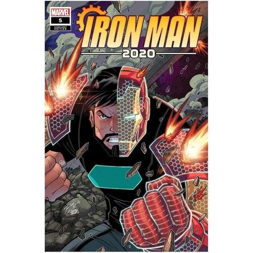IRON MAN 2020 #5 (OF 6) RON LIM VAR