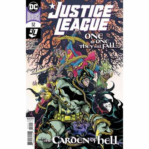 JUSTICE LEAGUE #52 CVR A CULLY HAMNER