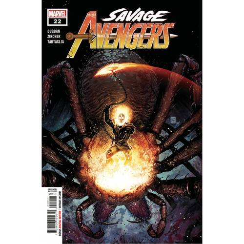 SAVAGE AVENGERS #22
