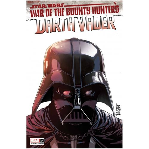 STAR WARS DARTH VADER #14 CAMUNCOLI HEADSHOT VAR WOBH
