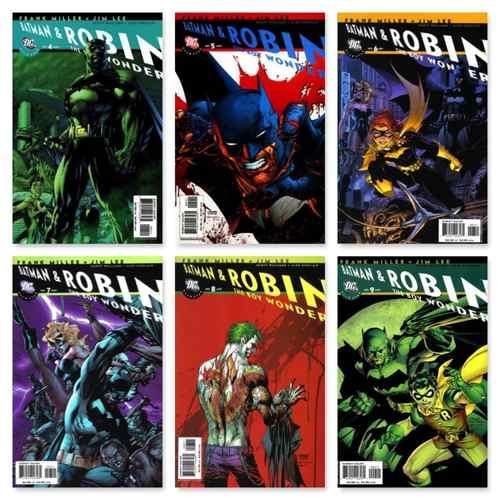 ALL STAR BATMAN AND ROBIN, THE BOY WONDER #1 - #10