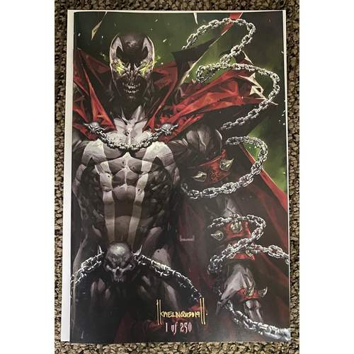 SPAWN 303 SGCC 2019 SINGAPORE COMIC CON EXCLUSIVE SIGNED COPY