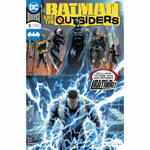 BATMAN AND THE OUTSIDERS 11