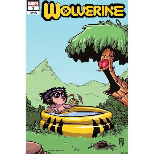 WOLVERINE #1 YOUNG VAR DX
