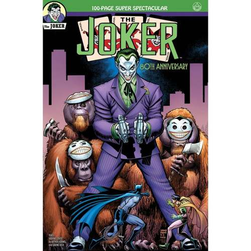 THE JOKER 80TH ANNIVERSARY 100-PAGE SUPER SPECTACULAR #1 1940S VARIANT COVER BY ARTHUR ADAMS