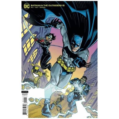 BATMAN AND THE OUTSIDERS #15 CVR B CULLY HAMNER VAR