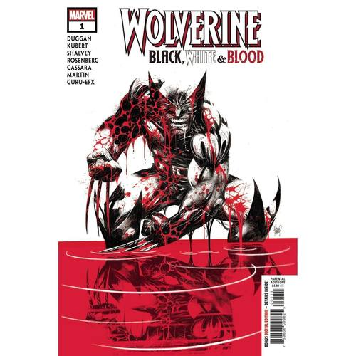 WOLVERINE BLACK WHITE BLOOD #1 (OF 4)