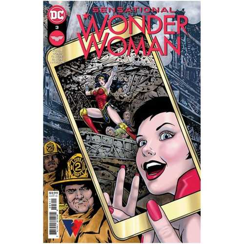 SENSATIONAL WONDER WOMAN #3 CVR A COLLEEN DORAN