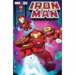 IRON MAN #4 RON LIM LEGO VAR