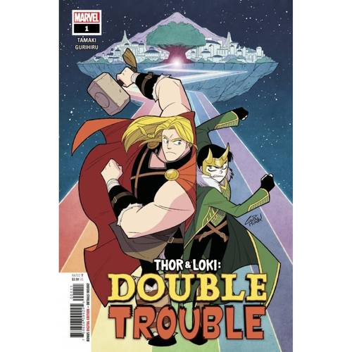 THOR AND LOKI DOUBLE TROUBLE #1 (OF 4)