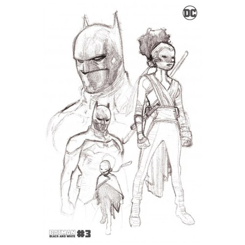 BATMAN BLACK AND WHITE #3 (OF 6) Second Printing