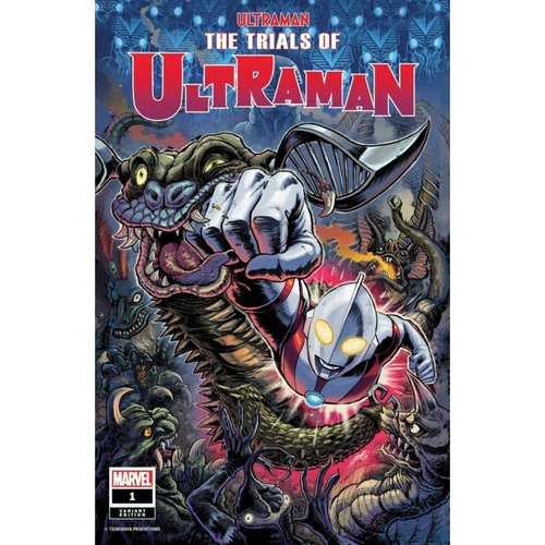 TRIALS OF ULTRAMAN #1 (OF 5) FRANK VAR