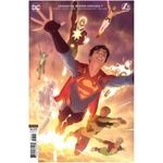 LEGION OF SUPER-HEROES #7 CVR B ALEX GARNER CARD STOCK VAR