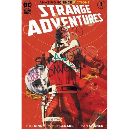 STRANGE ADVENTURES #1 (OF 12) MITCH GERADS VAR ED Second printing