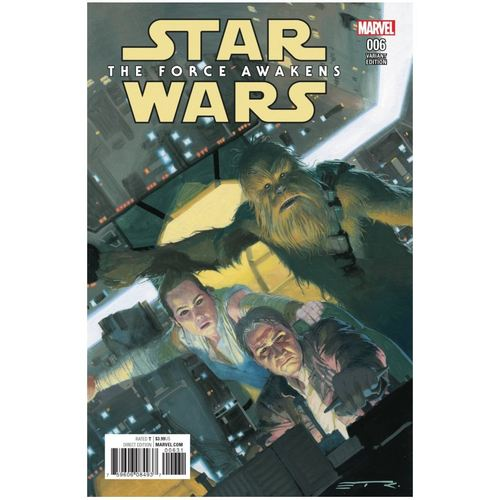 STAR WARS: THE FORCE AWAKENS ADAPTATION #6 - INCENTIVE ESAD RIBIC VARIANT