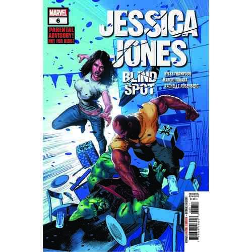 JESSICA JONES BLIND SPOT 6 OF 6