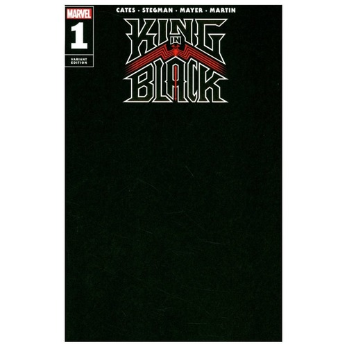 KING IN BLACK #1 (OF 5) BLACK BLANK VAR