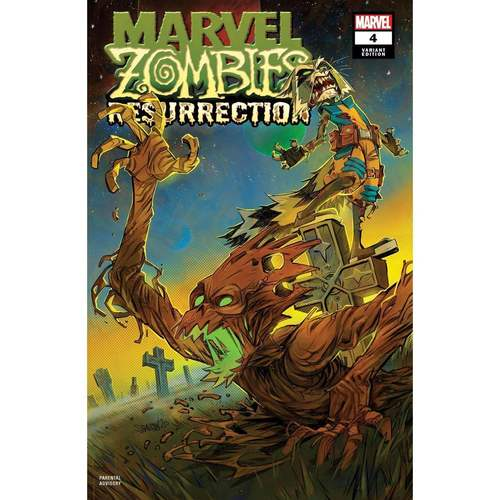 MARVEL ZOMBIES RESURRECTION #4 (OF 4) SHAVRIN VAR