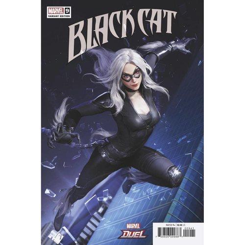 BLACK CAT #9 NETEASE MARVEL GAMES VAR