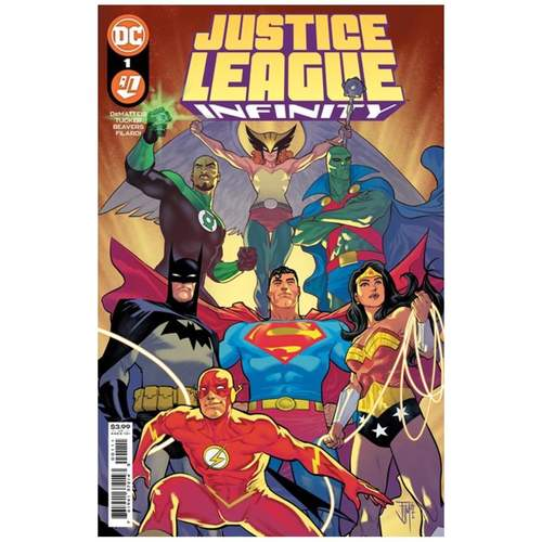 JUSTICE LEAGUE INFINITY #1 (OF 7) CVR A FRANCIS MANAPUL