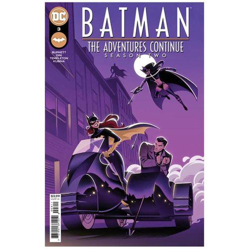 BATMAN THE ADVENTURES CONTINUE SEASON II #3 (OF 7) CVR A STEPHANIE PEPPER