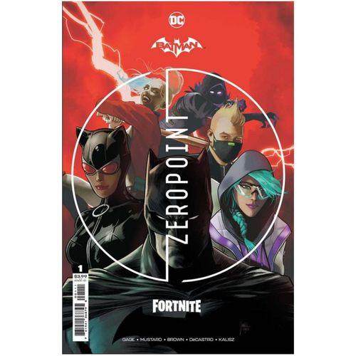 BATMAN FORTNITE ZERO POINT #1 (OF 6) CVR A MIKEL JANN