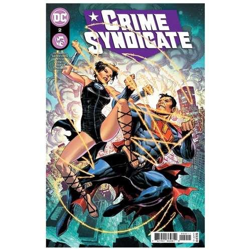 CRIME SYNDICATE #2 CVR A JIM CHEUNG