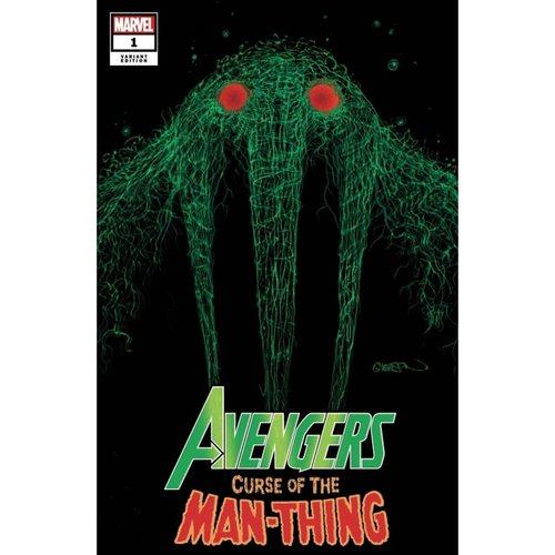 AVENGERS CURSE MAN-THING #1 GLEASON WEBHEAD VAR