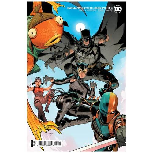 BATMAN FORTNITE ZERO POINT #4 (OF 6) CVR B DAN MORA CARD STOCK