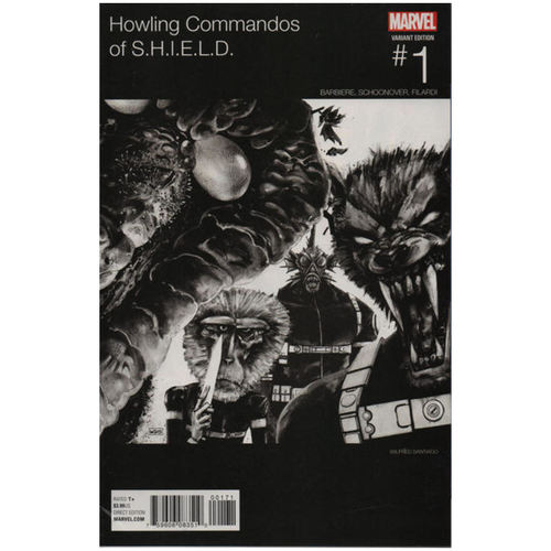 HOWLING COMMANDOS OF SHIELD #1 HIP HOP VARIANT