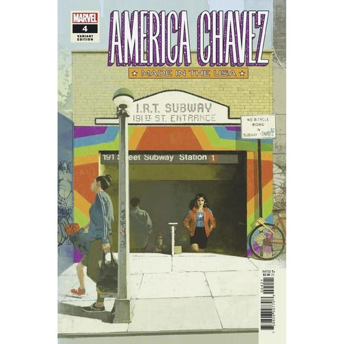 AMERICA CHAVEZ MADE IN USA #4 (OF 5) ASPINALL VAR