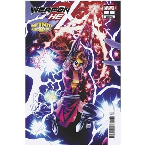 Infinity Warps: Weapon Hex #1 Kubert Connecting Variant