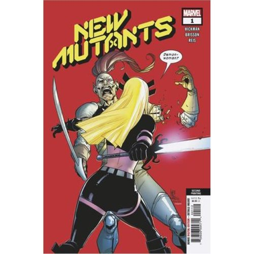 NEW MUTANTS 1 2ND PTG CAMUNCOLI VAR DX