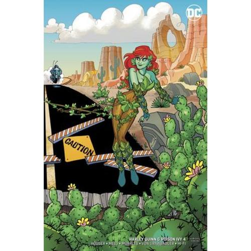 HARLEY QUINN & POISON IVY 4 OF 6 CARD STOCK POISON IVY VA