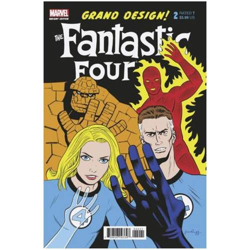FANTASTIC FOUR GRAND DESIGN 2 OF 2 RUGG VAR