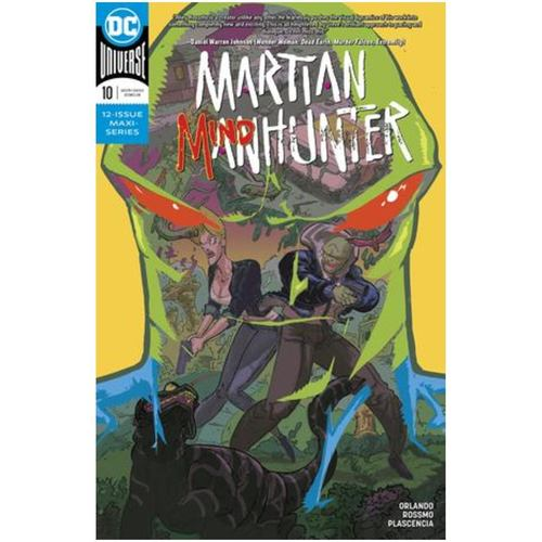 MARTIAN MANHUNTER 10 OF 12