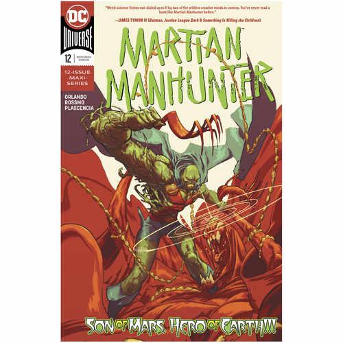 MARTIAN MANHUNTER 12 OF 12