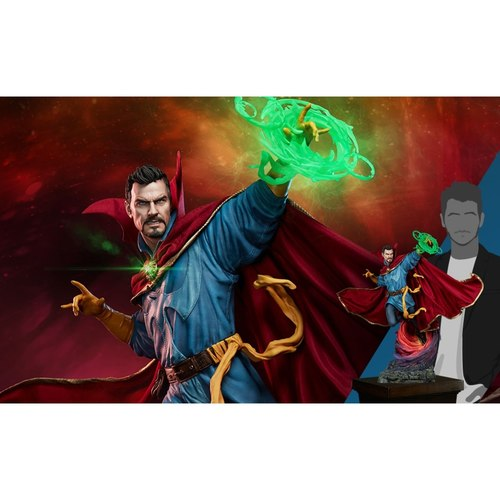 SIDESHOW COLLECTIBLES DOCTOR STRANGE MAQUETTE RELEASE 3RD QUARTER 2020