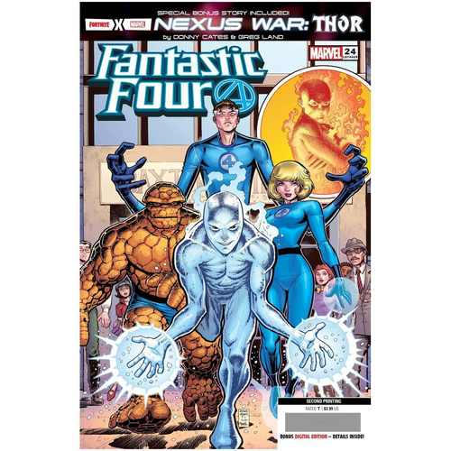 FANTASTIC FOUR #24 2ND PTG ART ADAMS VAR