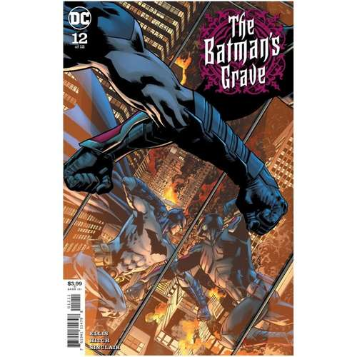 BATMANS GRAVE #12 (OF 12) CVR A BRYAN HITCH