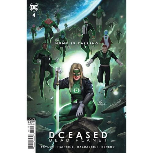 DCEASED DEAD PLANET #4 (OF 7) CVR C INHYUK LEE MOVIE HOMAGE CARD STOCK VAR