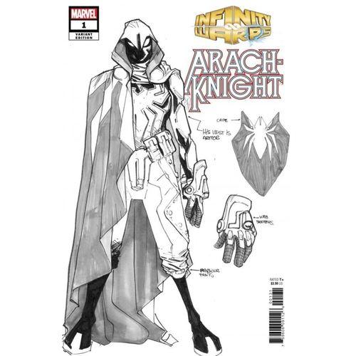 Infinity Warps: Arachknight #1 Ramos Design Variant