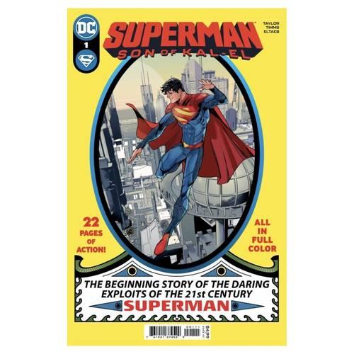 SUPERMAN SON OF KAL-EL 1 CVR A JOHN TIMMS